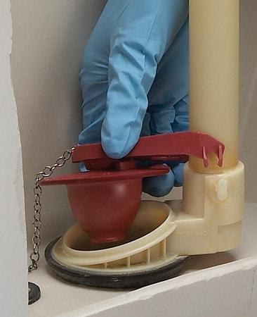 پمپ توالت فرنگی